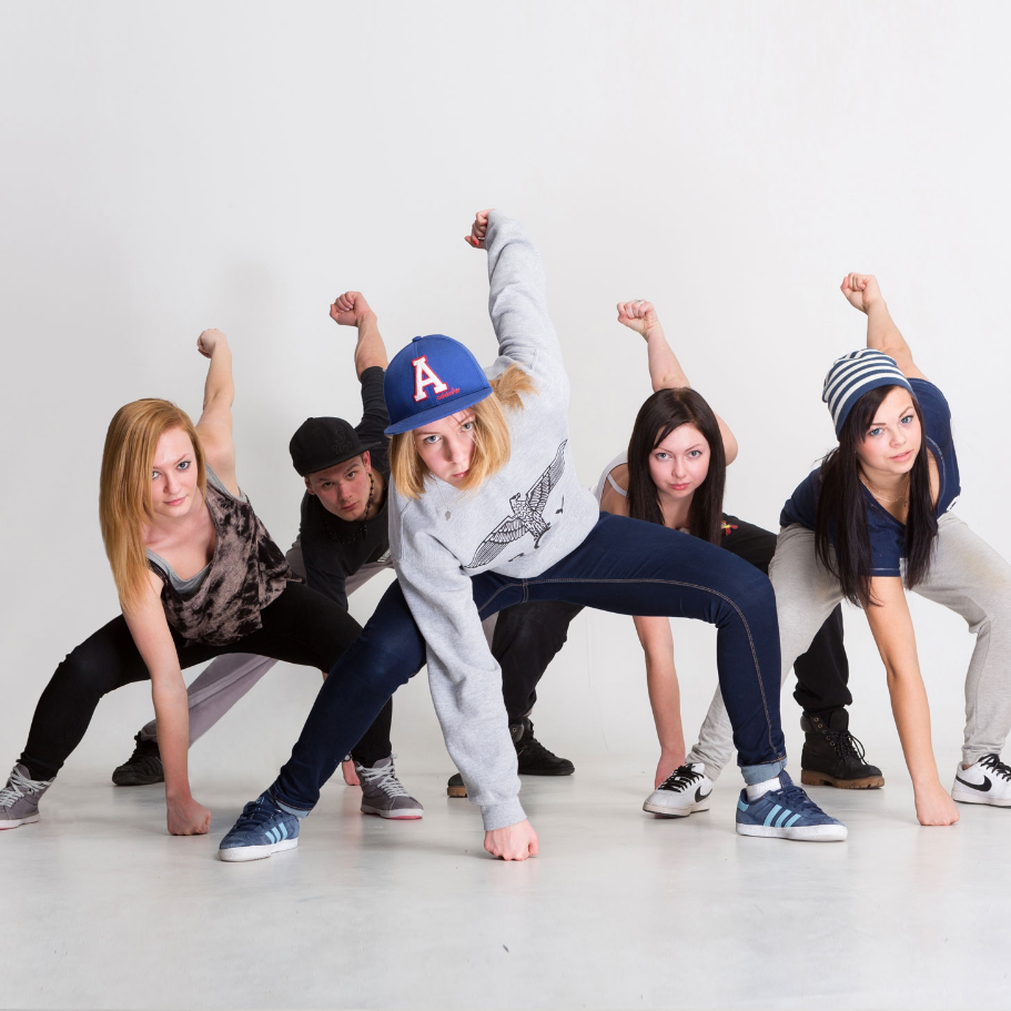 уроки хип-хоп танца в картинках